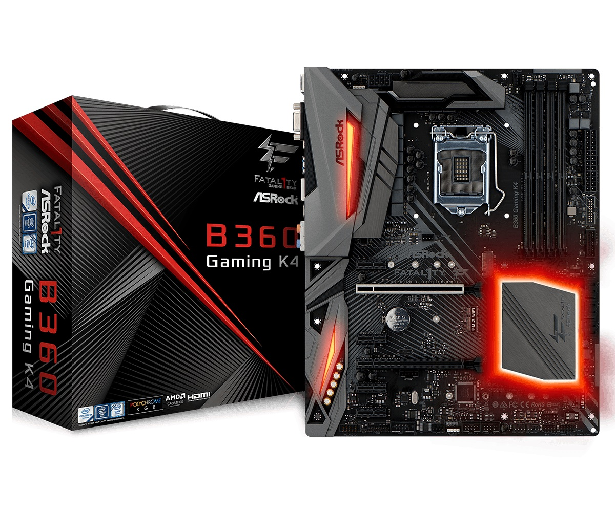 Материнська плата ASRock Fatal1ty B360 Gaming K4 Socket 1151