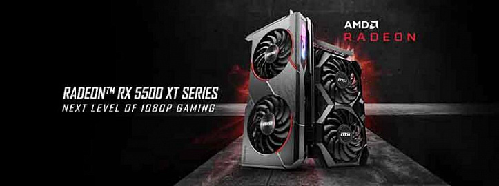 Gorgeous MSI eight - new Radeon RX 5500 XT Gaming / Mech graphics cards