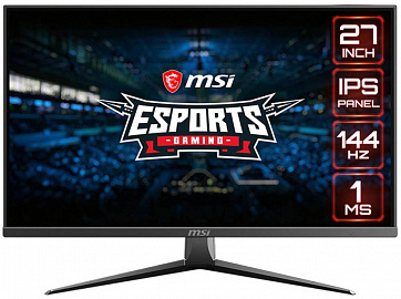 New from MSI for e-sports enthusiasts - Optix MAG273 and MAG273R monitors with 144 Hz refresh rate